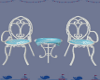 Coral Reef Chairs +Table