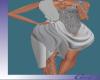 [Gel]Moon Drape Dress