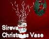 Sireva Christmas Vase