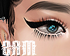 thicc eyeliner+lashes