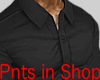 Smart Tight Shirt Black