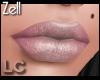 LC Zell Velvet Holo Lips