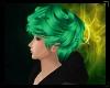 [P] green hair
