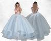 IDI Blue Princess Gown