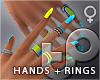 TP Cyberpunk Hands+Rings