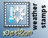 Weather Stamp Cold