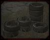 Atomic Tires  w/ Poses