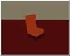 Rust Retro Chair