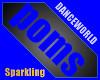 Sparkling Allusion Poms