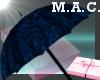 (MAC) Umbrella-BLUE-Leo