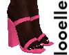 Pink Summer Heels