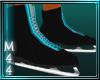 [M44] Blk/Blue Skates-M