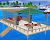 Plataforma en la playa