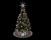 CD Silver Christmas Tree
