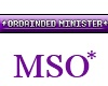 MSO* Ordained Minister
