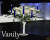 Blue Angel Floral Stand