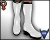 PVC boots white (f)