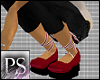 [PS] Candy Cane Shoes
