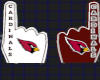 Cardinals Foam Finger