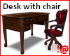 !@ Desk with chair