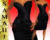 {S} Charm dress blk