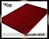 Cozy Winter Red Rug