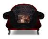 Goth vampire chair