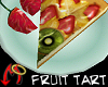 Fruit Tart Slice