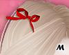 蝶 Cute Red Hair Bows