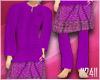 24:Baju Melayu Purple V2