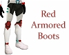 Red Armored Boots