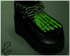 Green Skelly Creepers