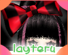 !big bow black and red