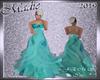 !a Emils Ball Gown Teal