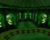 toxic green room