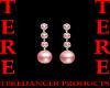 PINK PEARL/DIAM EARRINGS