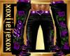 [L] LOVE Purple Pants M
