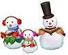 snow family carolers jb