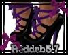 *RD* Purple Gothic Heels