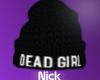 [N] Dead Girl Layer Hat