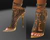 Sharp Snake Skin Heels