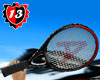 #13 Racket - BLACK
