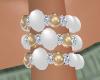 Cream Pearl Braclet