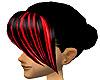 **bangs black/red**