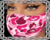 pink bape mask