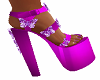 Purple Doll Shoes