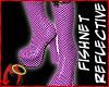 BootFishnet Fuschia