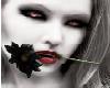 (M) red black goth