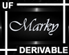UF Derivable Marky Sign