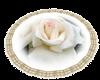 Rose round rug